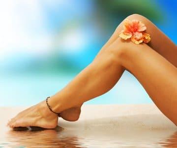 Как освежить ноги летом?